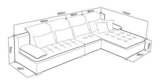 客厅沙发应如何挑选?材质+尺寸,一个都不要落!